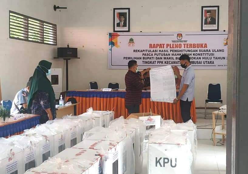 Siang Ini, KPU Rohul Pleno Tingkat Kabupaten