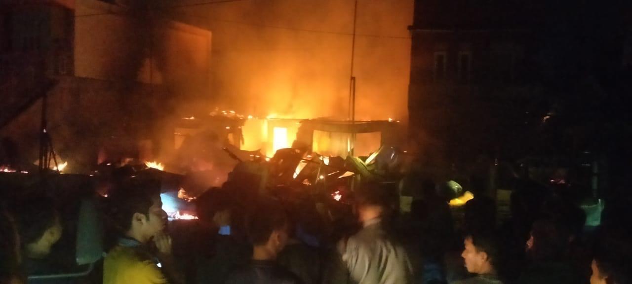 Ini Keterangan Polisi Terkait Kebakaran Empat Unit Rumah di Duri