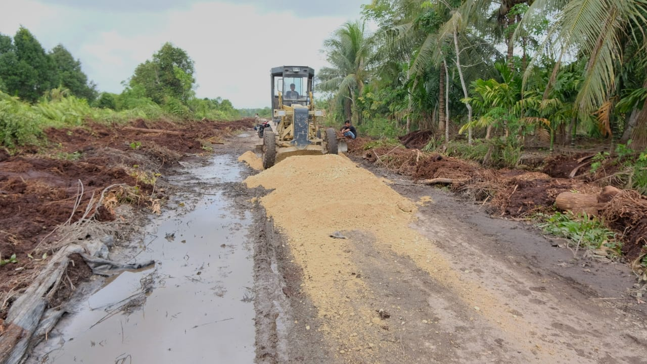 Jalan Poros Meranti Masuk Skala Prioritas 2022