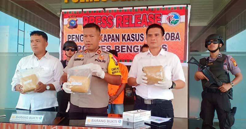 Terduga Kurir Sabu 3 Kg Ditangkap