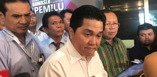 Jilat Ludah, jika Erick Thohir Terima Tawaran Jadi Menteri