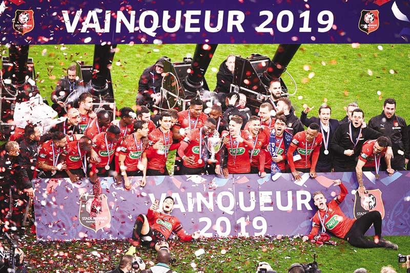 Rennes Juara Piala Liga Prancis