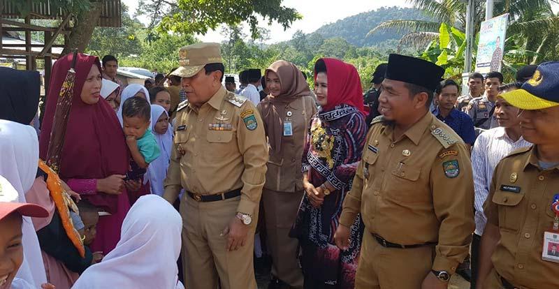 Bupati Berharap Dikelola dengan Jujur Wisata Kahati BUMDesa Jaya Tinggi Diresmikan