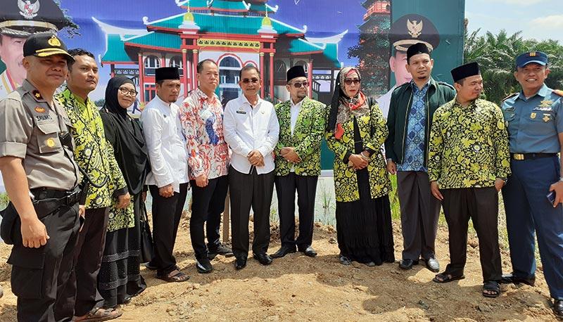 Bupati Ajak Semua Pihak Dukung Pembangunan Masjid Cheng Ho