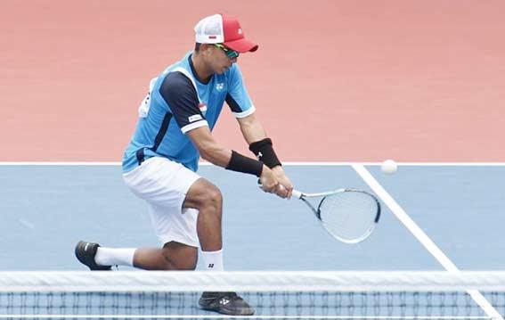 Soft Tenis Sabet Perak