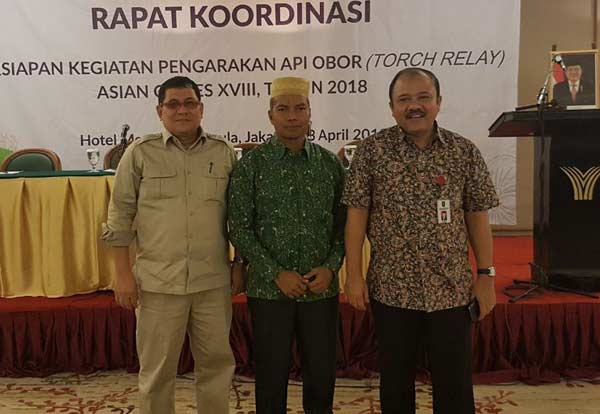 Api Obor Asian Games 2018 Sampai ke Riau