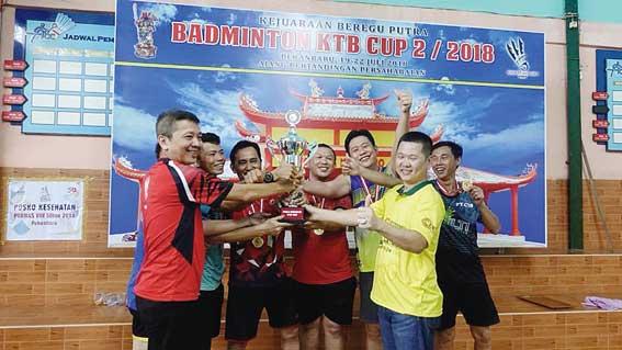 Brazil Juara Turnamen Badminton Kwan Tee Bio Ke-2