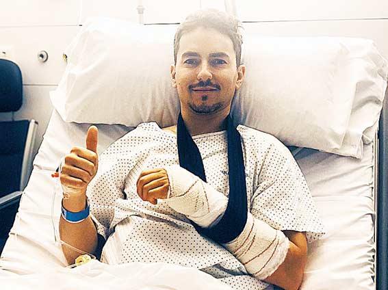 Lorenzo Tak Terlalu Kecewa dengan Cederanya