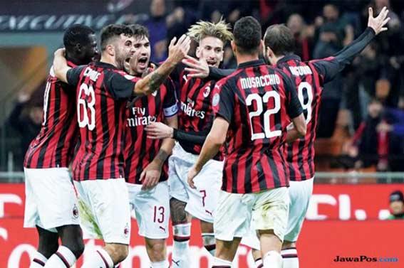 AC Milan Tembus Posisi Empat Besar