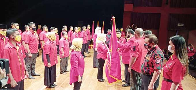 Pengurus Soksi Provinsi Riau dan Pekanbaru Dilantik