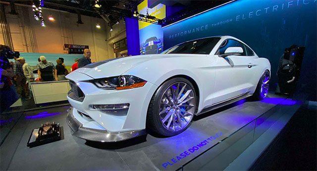 Mustang Bakal Hijrah Pakai Mesin Listrik