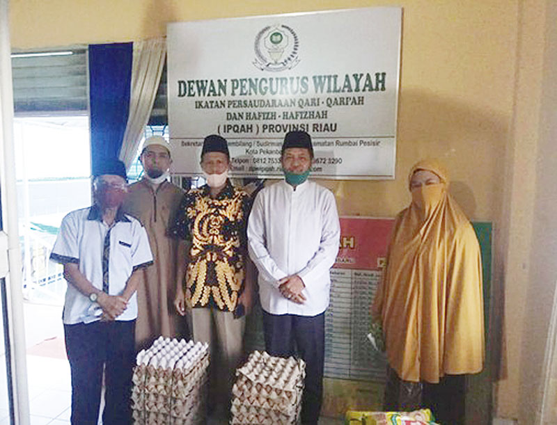 DPW IPQAH Berbagi di Masa Pandemi