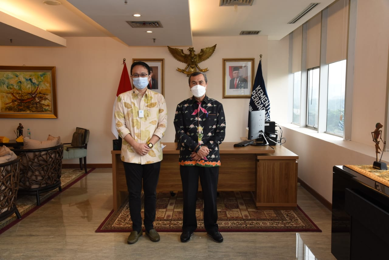 Bertemu Gubri, Wamen Perdagangan Segera ke Riau