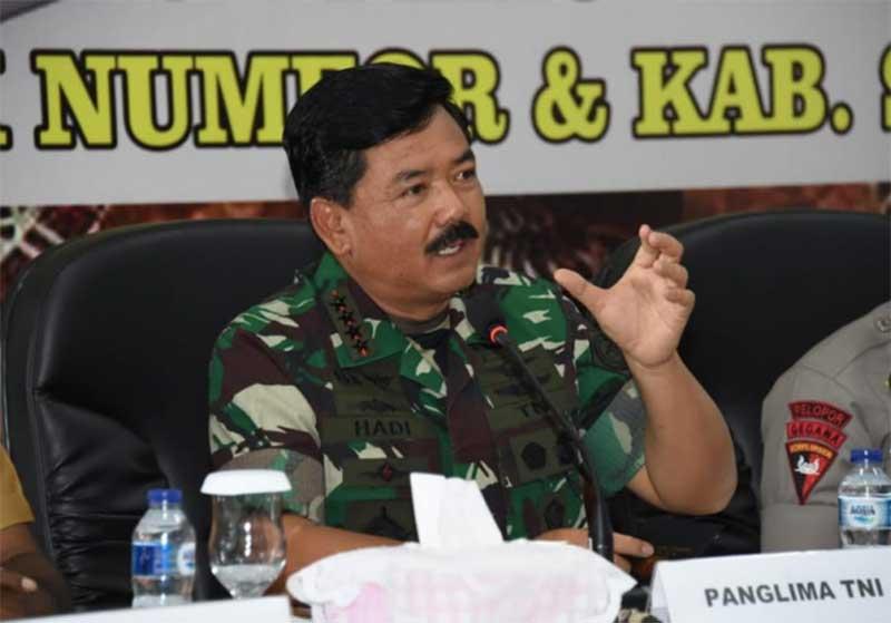 Panglima TNI Siap Kerahkan 90.000 Personel