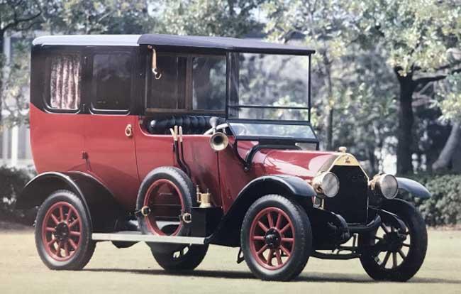 Mitsubishi Model A, Mobil yang Dibuat Gunakan Palu dan Alat Pahat