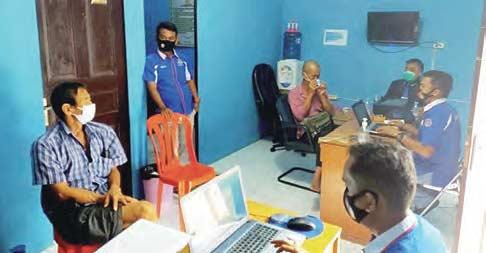 Miliki Sabu, Nelayan Asal Malaysia Ditahan