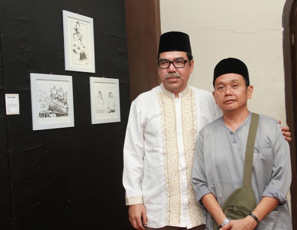 Furqon Elwe, Kartunis Riau Pos Juara International Cartoon Carricatur Contest