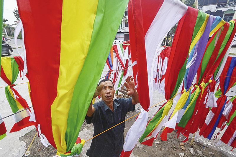 Penjualan Bendera Lesu