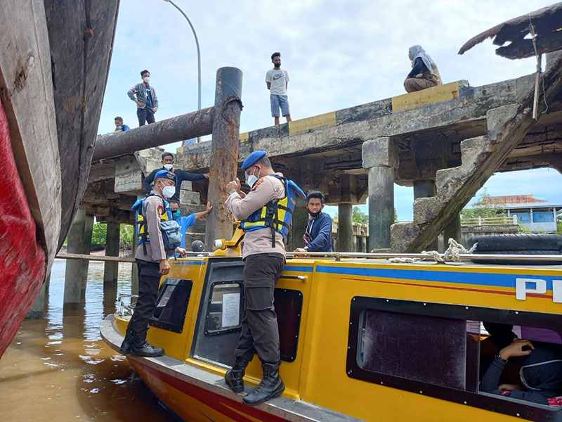 Kapal dan 13 Penumpang Diamankan Polisi