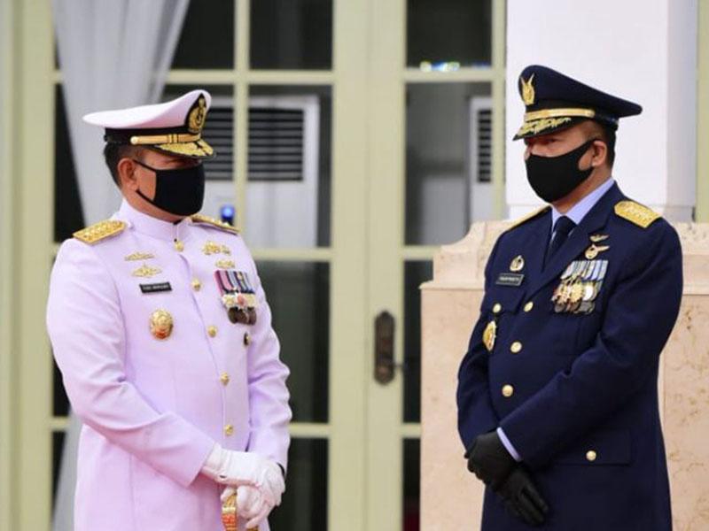 Laksamana TNI Yudo Margono Nakhodai TNI-AL