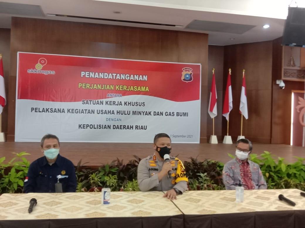 SKK Migas, PHR, dan Polda Riau Berkolaborasi Jaga Keamanan Blok Rokan