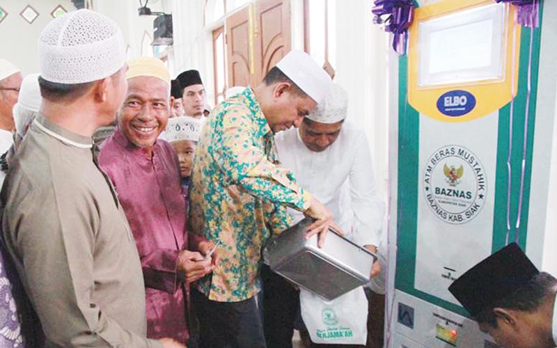 Peluncuran ATM Beras Ketujuh