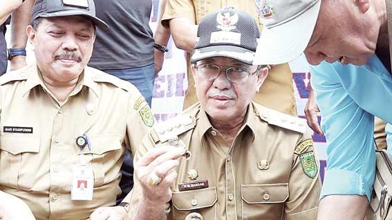 12,5 Ton Siput Diekspor ke Malaysia