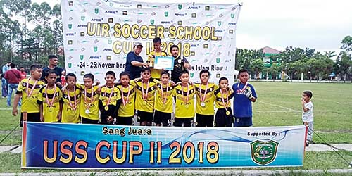 PCSS Juara, Nabil Runner-up