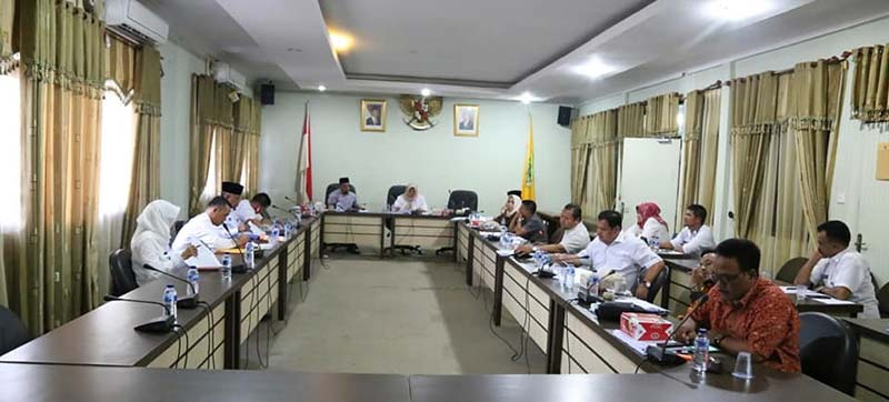 DPRD Maksimalkan Waktu AMJ, Sahkan APBD Perubahan 2019