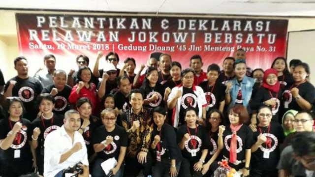 Relawan Teman Jokowi Sodorkan 2 Nama Layak  Menteri