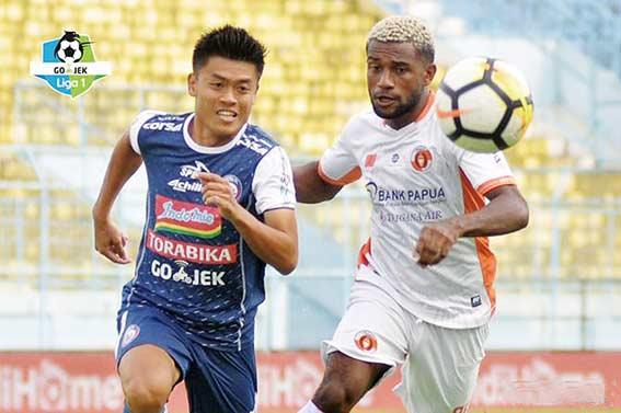 Arema FC Cukur Perseru