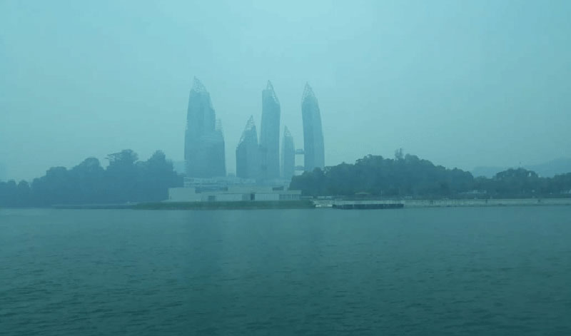 Kualitas Udara Singapura Tak Sehat