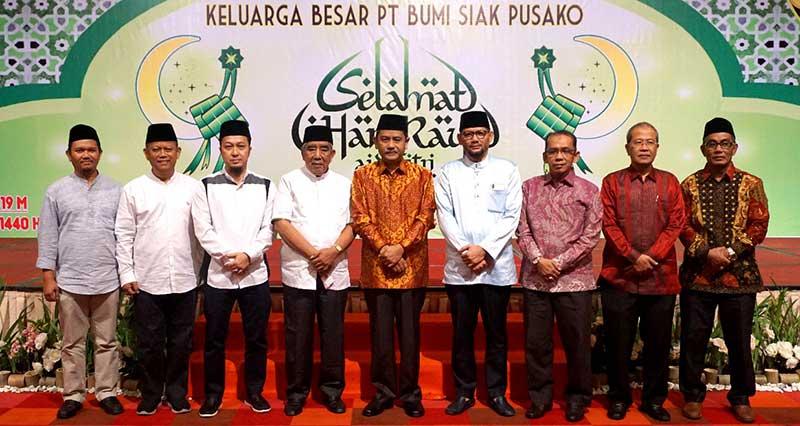 Jalin Silaturahmi, PT BSP Halalbihalal Bersama Stakeholder