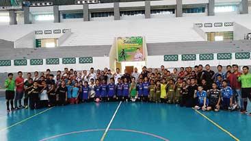 Dispora-PWI Pekanbaru Gelar Turnamen Futsal Tingkat SMP