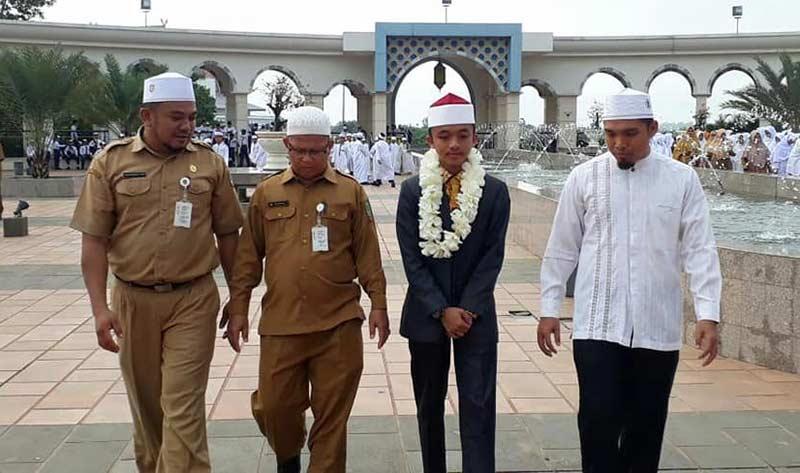 Qari Rohul Harumkan Nama Riau di STQ Nasional