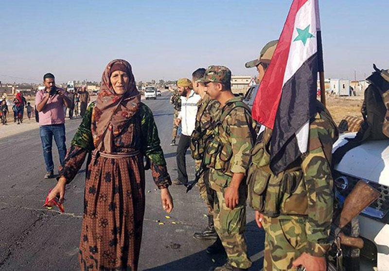 Kurdi Beralih ke Assad dan Lawan Militer Turki