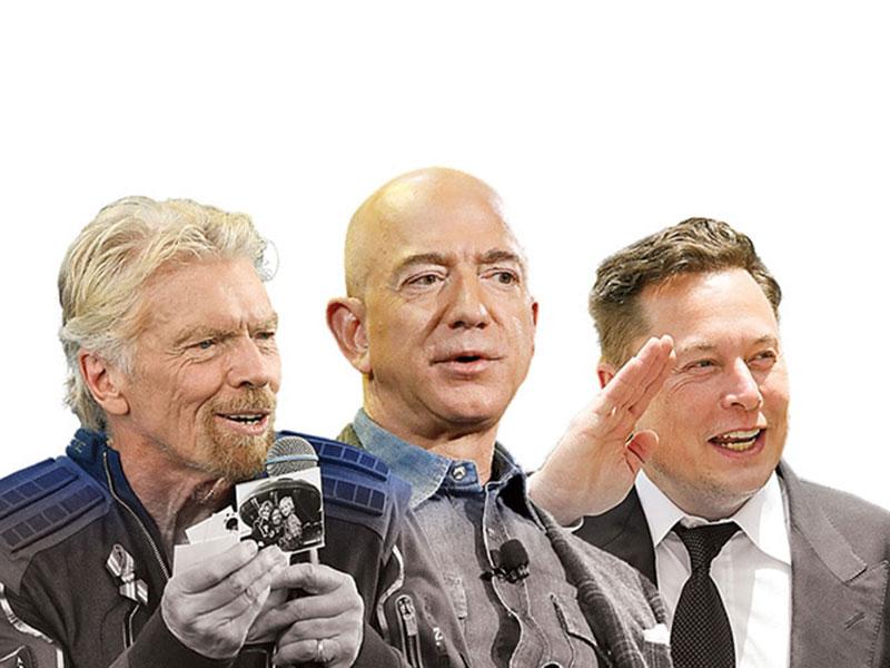 Pesawat Milik Jeff Bezos Siap Terbang ke Luar Angkasa