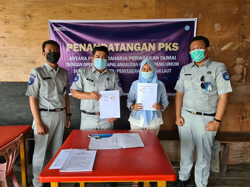 Jasa Raharja Lindungi Penumpang Speedboat Selatpanjang-Teluk Belitung