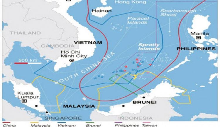 Laut Cina Selatan Memanas, AS Sanksi 24 Perusahaan Cina yang Beroperasi di Sana