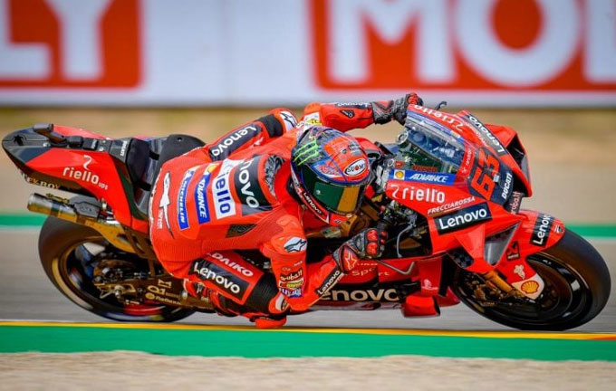 Francesco Bagnaia Raih Kemenangan Pertama di MotoGP