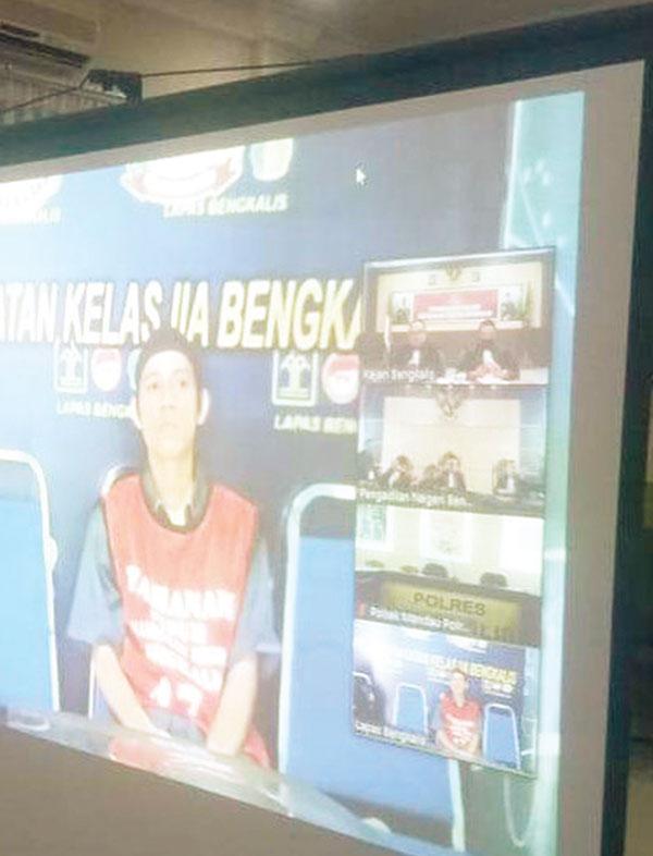 Pemilik 55 Kg Sabu di Bengkalis Divonis Mati