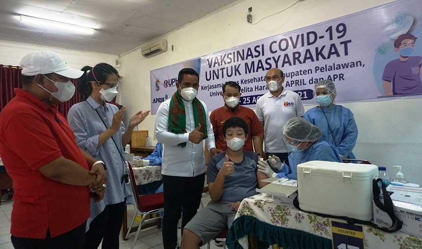 PT RAPP dan PT APR Dorong Vaksinasi Capai Herd Immunity