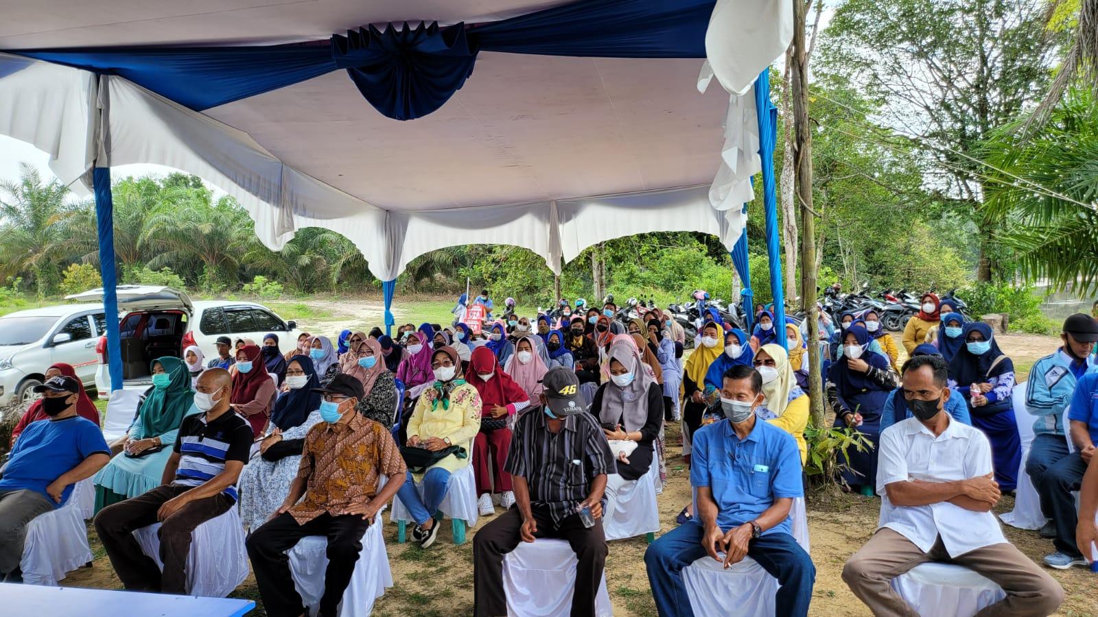 Bersilaturahmi di Tepi Sungai Siak, Aidil Janji Perjuangkan Aspirasi Warga Okura