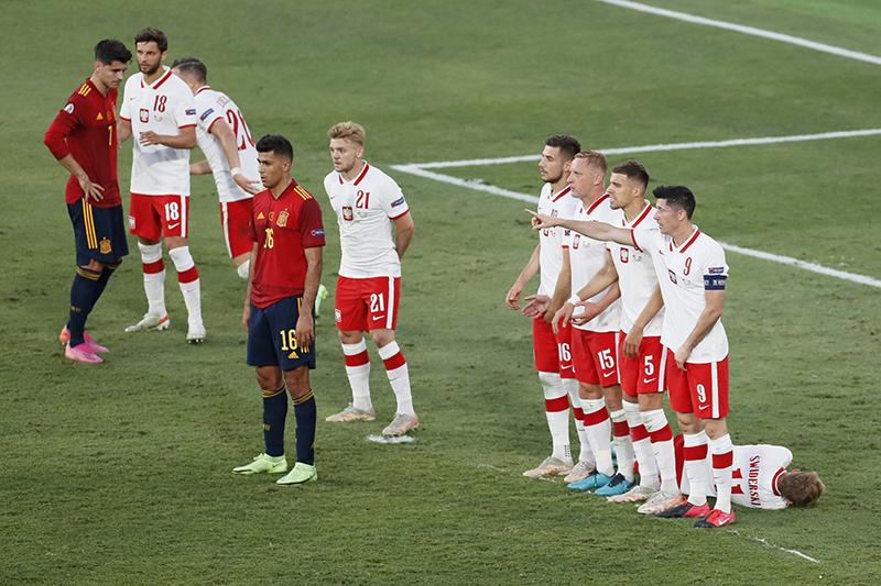 Lagi, Spanyol Gagal Menang Setelah Ditahan Polandia
