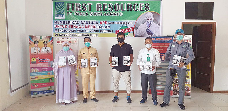 First Resources Group Salurkan Bantuan APD
