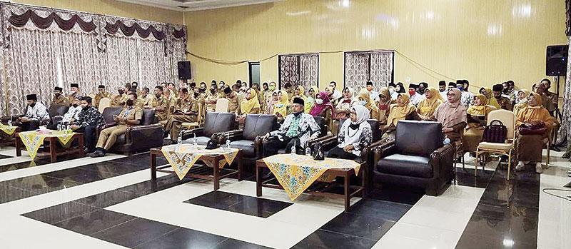 63 Kepala SMP di Inhu Tercerahkan, Pengunduran Diri Ditolak Pemkab