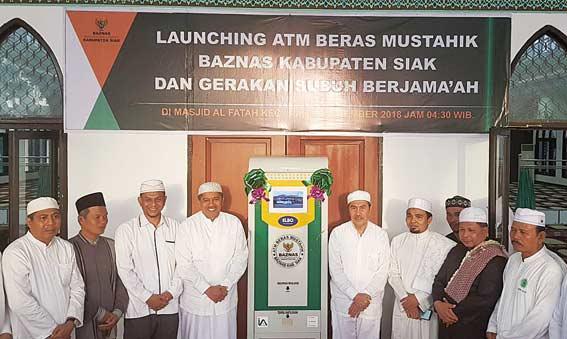 ATM Beras Tersedia di Siak