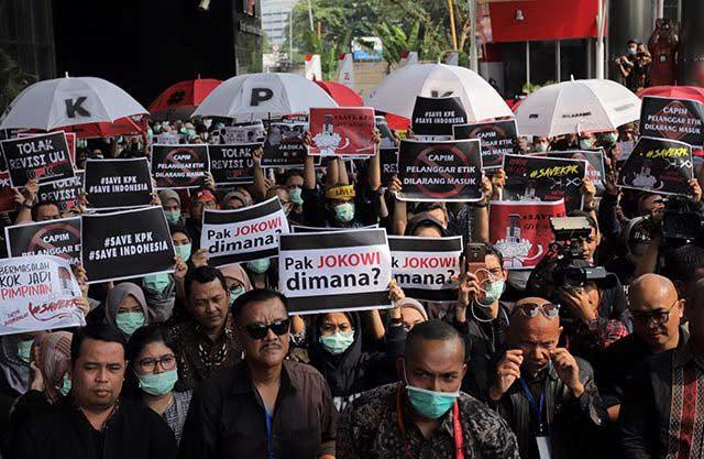Besok, UU KPK Diberlakukan, WP Masih Berharap Perppu Keluar