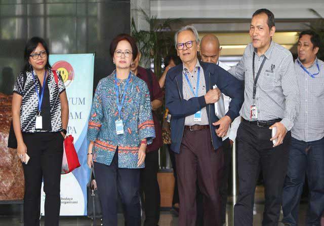 Perppu Tak Kunjung Keluar, Tokoh Nasional Kunjungi KPK, Siap Ajukan Judicial Review