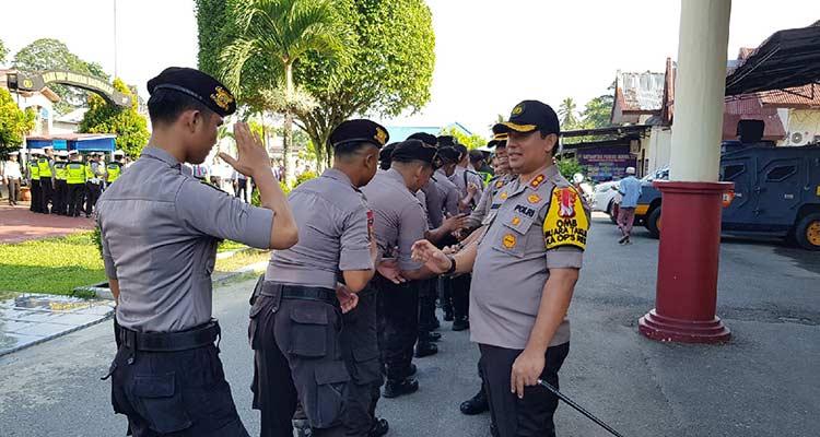 Kapolres Instruksikan Personel Tingkatkan Kinerja